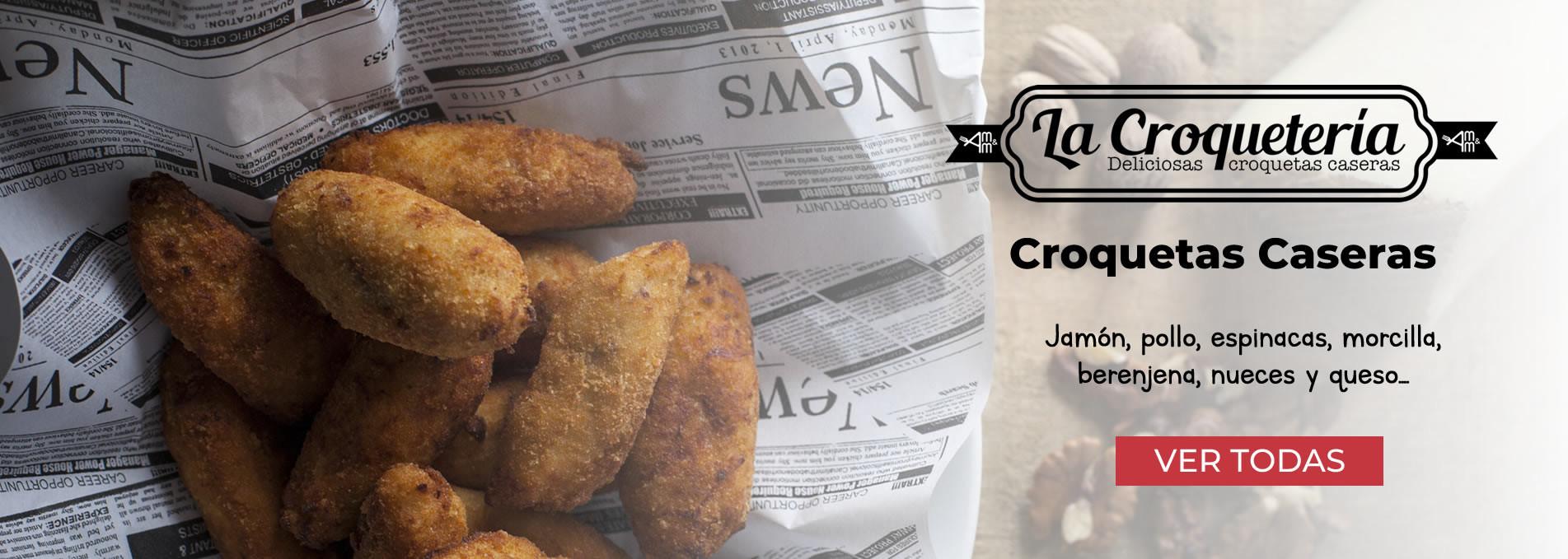 La Croquetería: Deliciosas Croqueta Caseras
